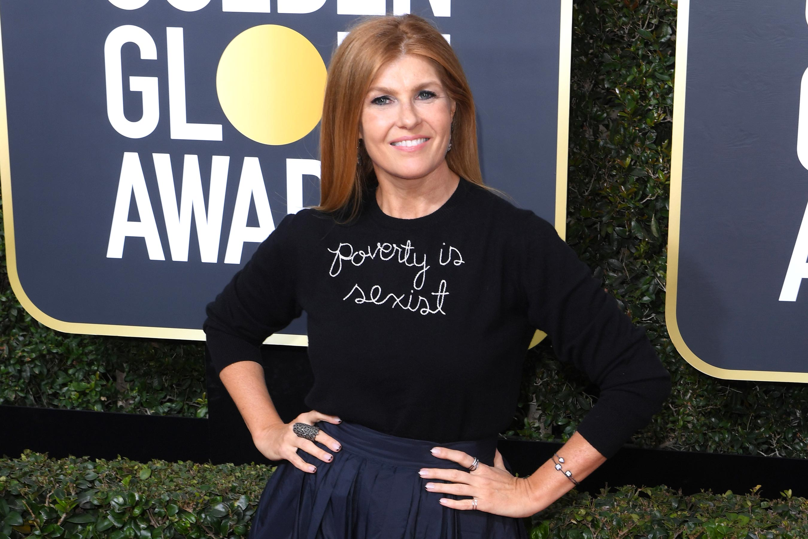 Connie Britton: Yes, poverty is sexist. Here's why.