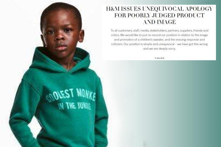 H&M remove controversial 'monkey' hoodie after outrage over 'racist' photo of boy