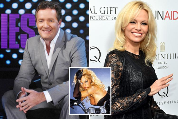 Pamela Anderson in row with Piers Morgan as she accuses him of editing her Life Stories interview to focus on her 'body parts and men'