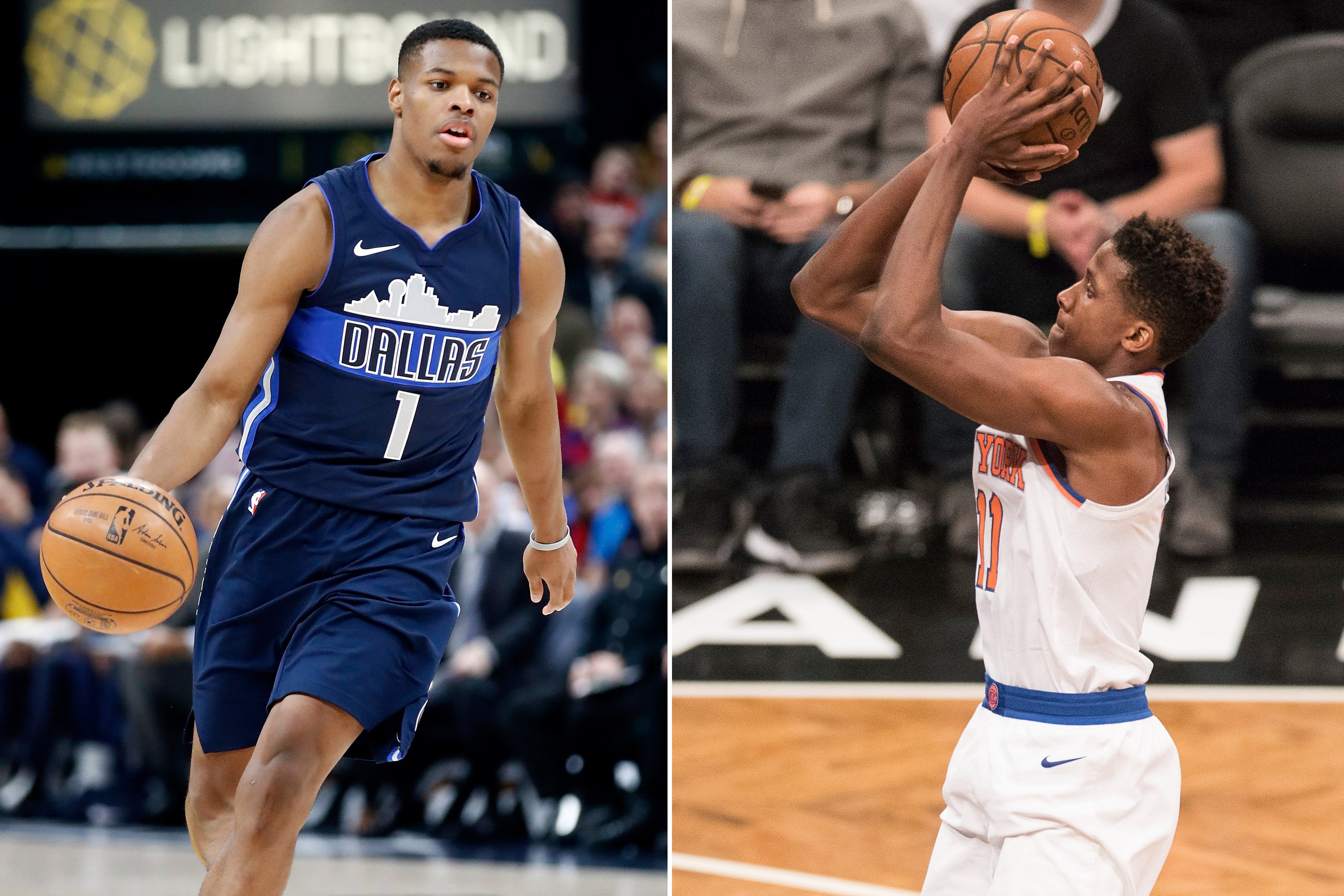 Knicks, Mavericks rookies clash in battle of what might have been
