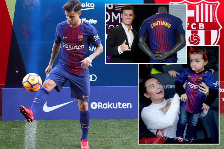 Philippe Coutinho injury: Barcelona confirm Brazilian is injured and out for 20 days after his £145m move from Liverpool
