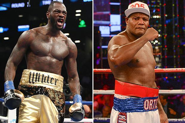 Deontay Wilder agrees to give drug cheat Luis Ortiz second chance on March 3 after doping bust