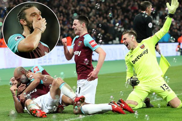 West Ham 2 West Brom 1: Andy Carroll bags 94th-minute winner to seal dramatic three points for Hammers
