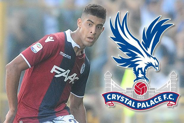 Crystal Palace rival West Ham for highly-rated Bologna star Adam Masina