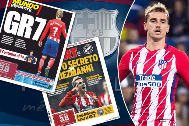 Barcelona deny secret pact with Antoine Griezmann in official statement insisting they are not signing Atletico Madrid star this summer