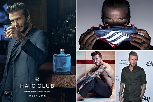 David Beckham earns £40k a day from business empire after lucrative deals with Adidas, Haig and H&M