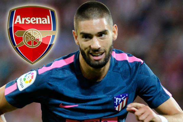 Arsenal reportedly tracking Atletico Madrid winger Yannick Carrasco with Arsene Wenger willing to pay £44m in summer