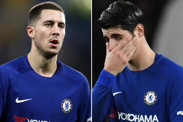 Antonio Conte, Alvaro Morata, Eden Hazard? Who is to blame for Chelsea's goalless run?