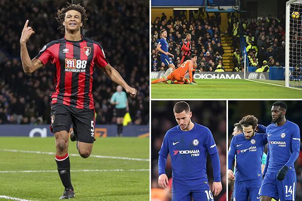Chelsea 0 Bournemouth 3: Antonio Conte feeling the pressure as Cherries embarrass the champions