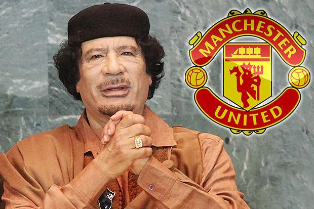 Former Libyan dictator Colonel Gaddafi was just 'hours away' from buying Manchester United before stake was sold to Glazers