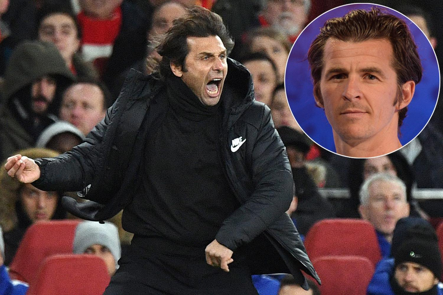 Joey Barton calls Antonio Conte 'soft lad' and 'petulant child' as he criticises Italian's touchline antics