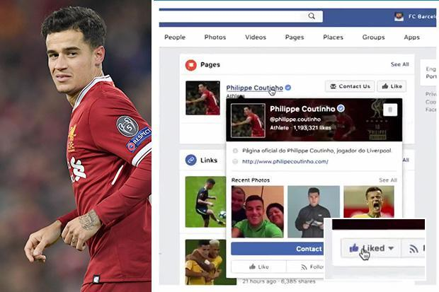Barcelona Facebook post of Philippe Coutinho unveiling 'made in summer'… with Liverpool fans livid