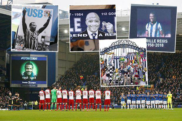 Cyrille Regis honoured with minute's applause from Premier League players and fans