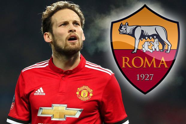 Roma in talks with Manchester United over signing of Daley Blind, who is keen on move to Italian capital