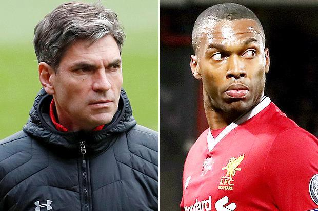 Southampton scrap move for Daniel Sturridge after Liverpool slap £50million price tag on the striker
