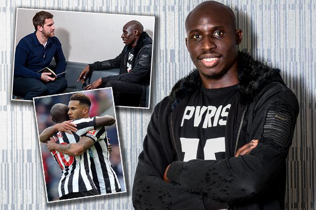 Mo Diame interview: Newcastle midfielder to prove to fans he's up for the fight… and not just with captain Jamal Lascelles