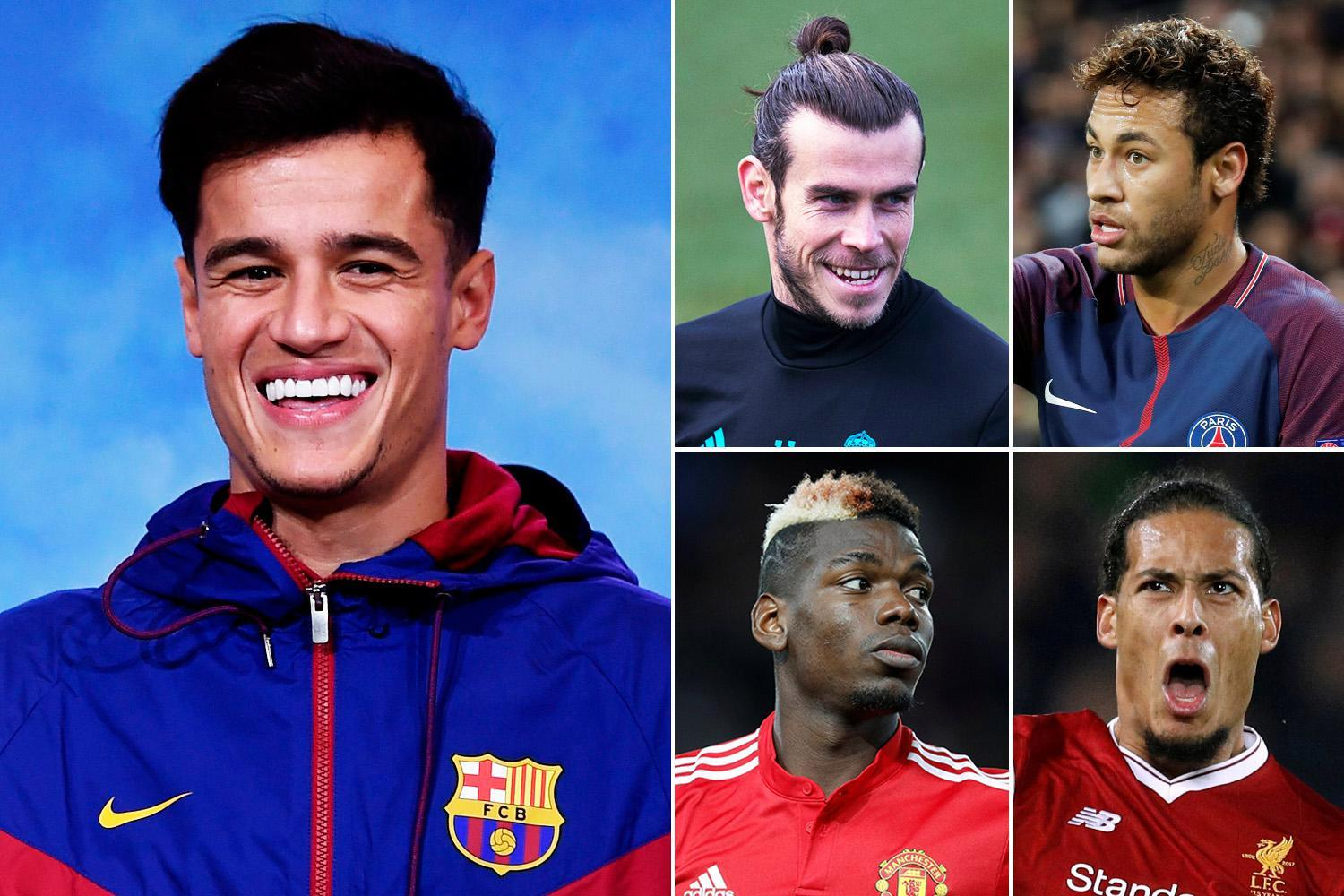 As Philippe Coutinho joins Barcelona for a Premier League record £145million, check out the most expensive XI in the world worth a staggering £1billion