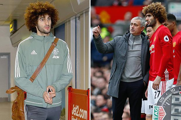 Marouane Fellaini tells Jose Mourinho he wants to leave Manchester United for a new challenge