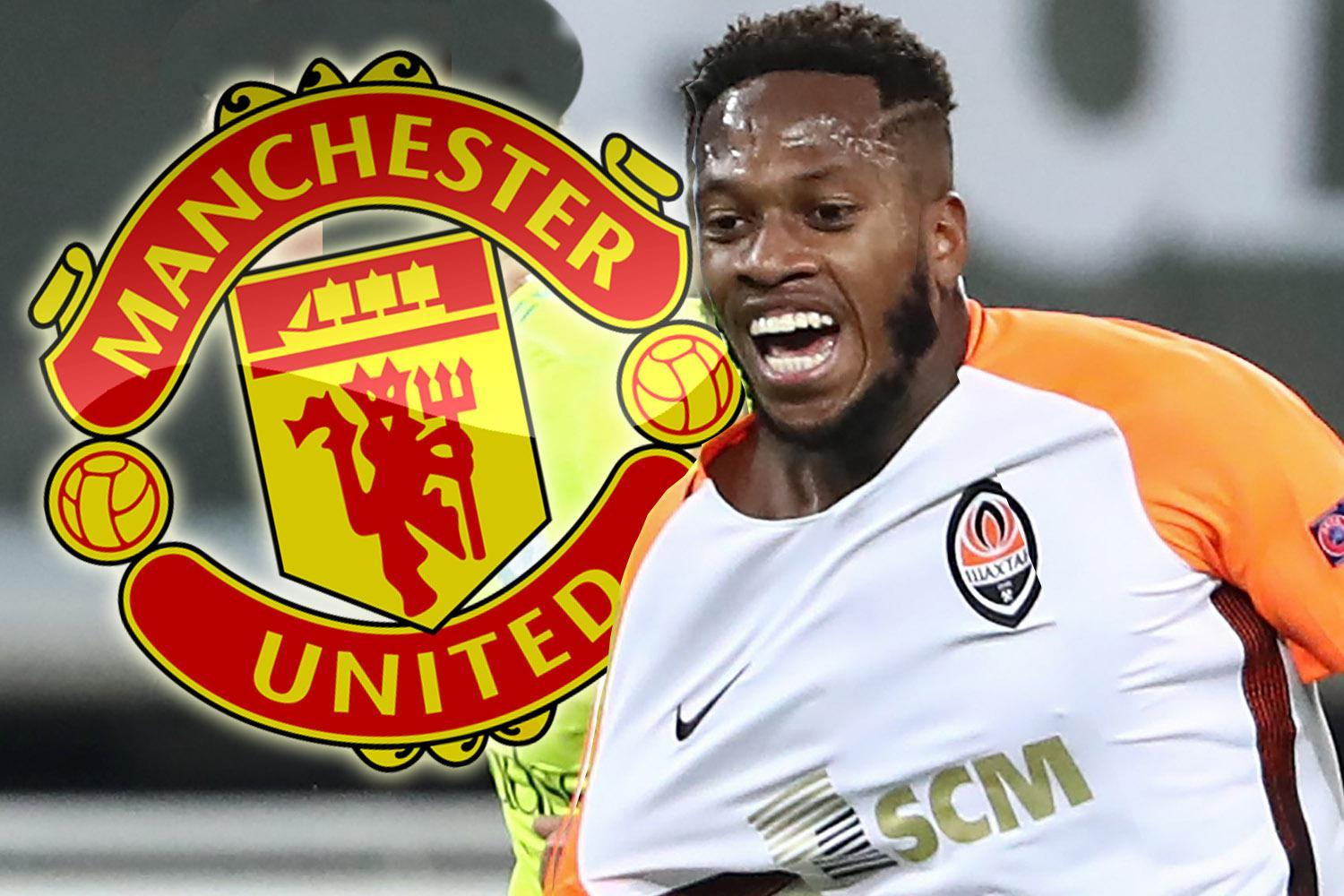 Manchester United offered last-gasp chance to bag Shakhtar Donetsk midfielder Fred under noses of Manchester City