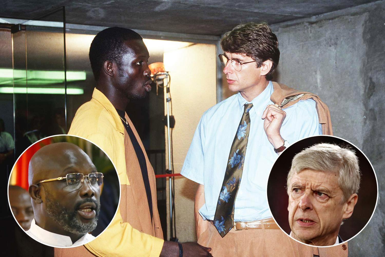 Arsene Wenger invited to George Weah's inauguration as new Liberian president… but will only go if he's banned from Arsenal touchline