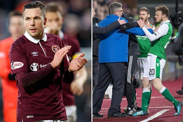 Hearts 1 Hibs 0: Don Cowie's dramatic late goal sends the Jambos into the Scottish Cup fifth round