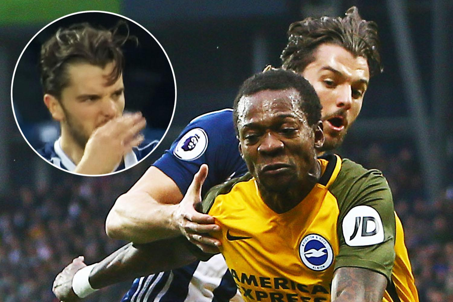 West Brom back Jay Rodriguez over racism accusations from Brighton ace Gaetan Bong as FA launch investigation