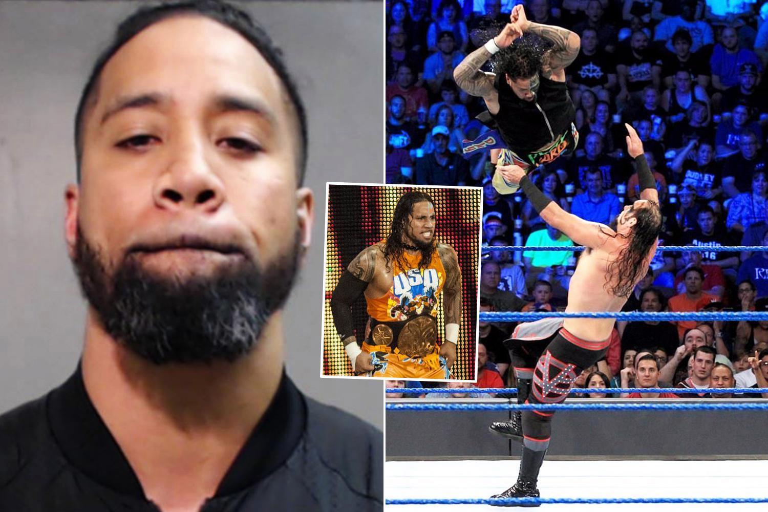 WWE star Jey Uso arrested on suspicion of drink driving after being pulled over by cops in Texas