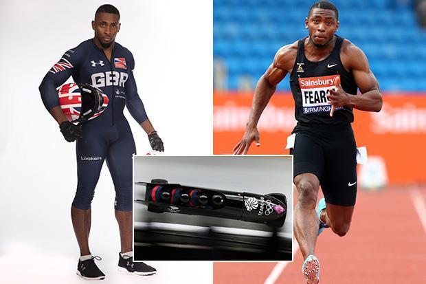 Meet Joel Fearon, the sub-10-second 100m sprinter who has swapped delivering pizzas for a bobsleigh glory bid at the Winter Olympics