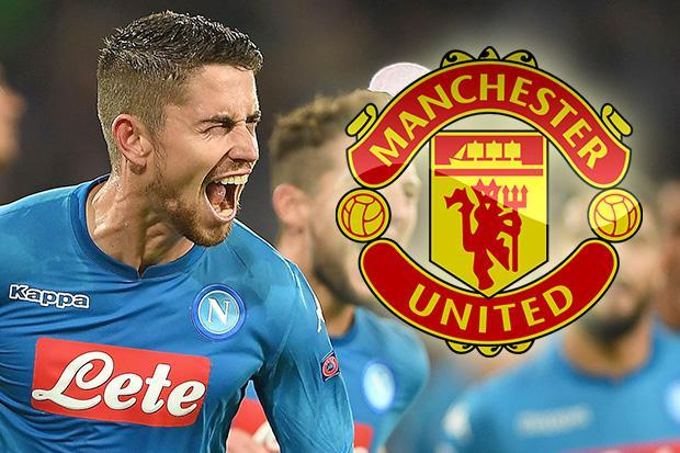 Napoli ace Jorginho's representatives 'in Manchester to discuss transfer to Manchester United'