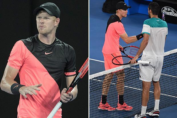 Brit tennis star Kyle Edmund backs himself to perform in future Grand Slams after losing to Marin Cilic in Australian Open semi-final