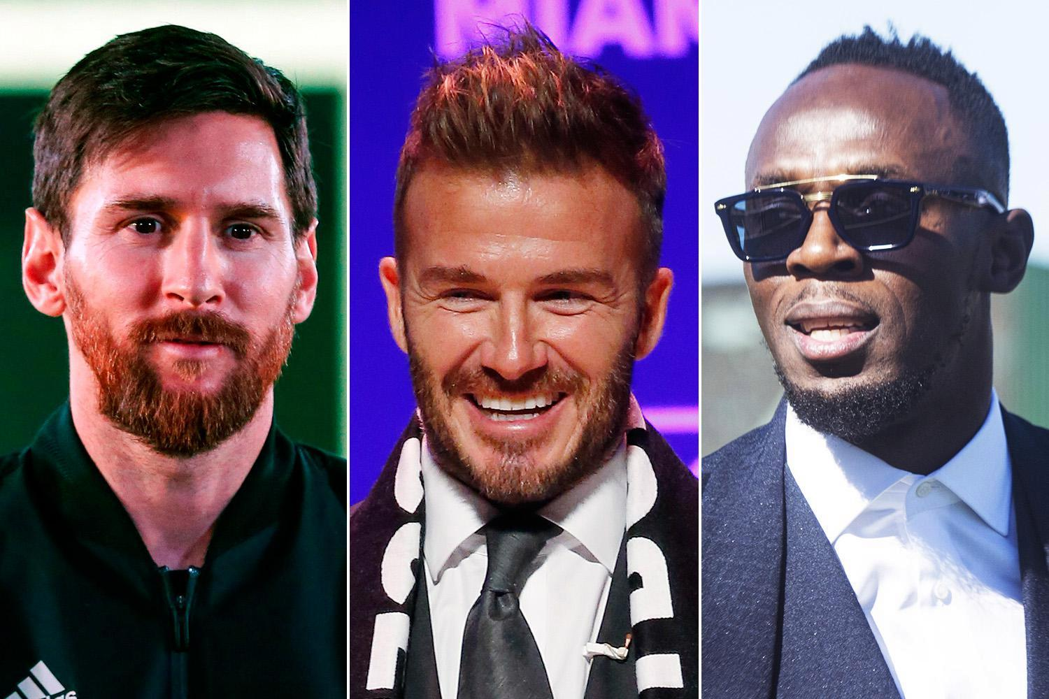 Lionel Messi hints shock move to David Beckham's new Major League Soccer team… with Usain Bolt also keen