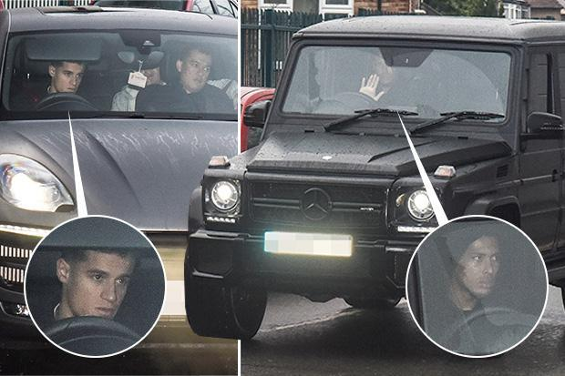Philippe Coutinho drives into Liverpool training and Virgil van Dijk arrives for his first day