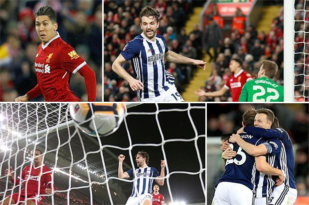 Liverpool 2 West Brom 3: Reds crash out of FA Cup at the fourth stage for third consecutive season as VAR takes centre stage