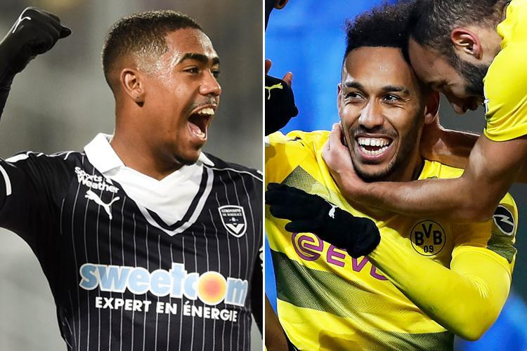 Arsenal in talks over Pierre-Emerick Aubameyang transfer and want Malcom for £40million