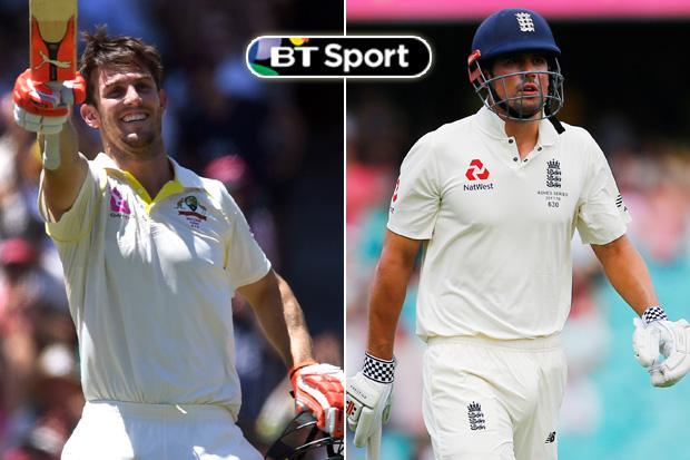Ashes 2017: Five key moments from day four as Alastair Cook reaches 12,000 Test runs and the Marsh brothers nearly give Steve Smith a heart attack