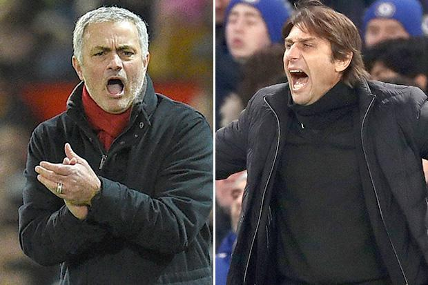 Jose Mourinho and Antonio Conte set for another showdown over 'taking PSG job at end of the season'