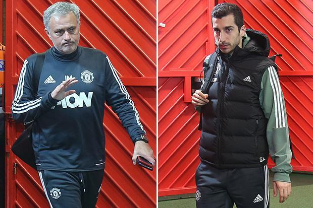 Jose Mourinho admits Henrikh Mkhitaryan was dropped due to transfer rumours