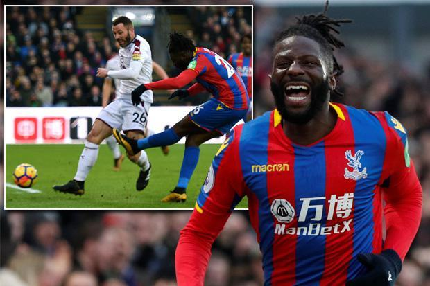 Crystal Palace 1 Burnley 0: Bakary Sako with the only goal of game to sink Burnley as Palace head towards safety