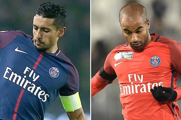 PSG star Marquinhos breaks down in tears at thought of pal Lucas Moura leaving in January