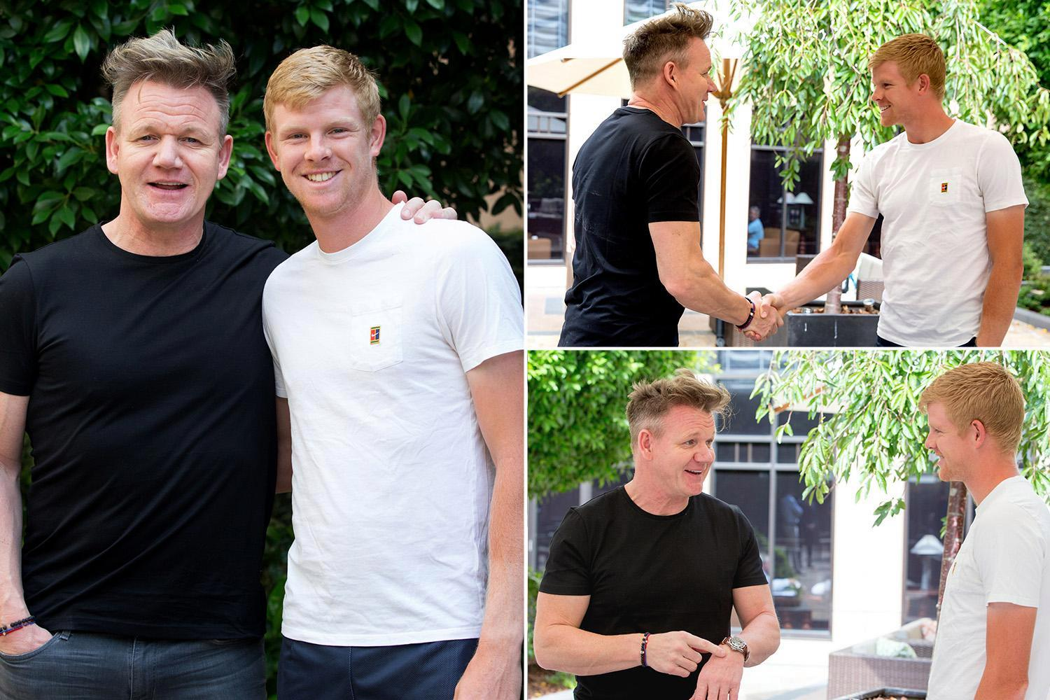 Australian Open 2018: Kyle Edmund promised slap-up meal by Gordon Ramsay if he beats Marin Cilic