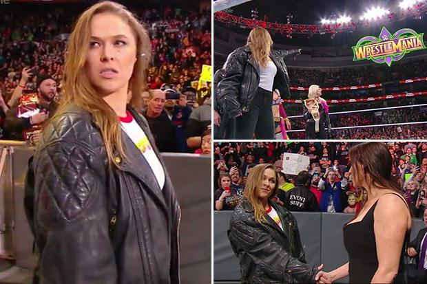 Ronda Rousey WWE: UFC star SIGNS full-time for WWE after making sensational Royal Rumble appearance