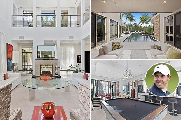 Rory McIlroy selling £9.5million Florida mansion with eye on landing £2.5m profit