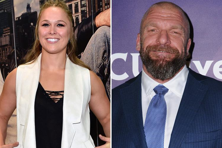 Ronda Rousey moves step closer to joining WWE after UFC legend being spotted in talks with chief Triple H