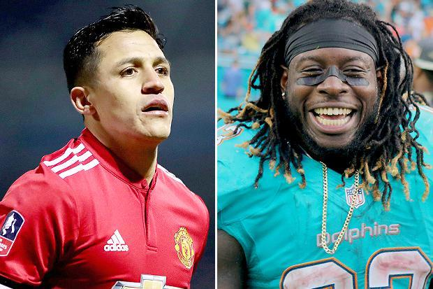 Arsenal fan Jay Ajayi happy to see the back of Alexis Sanchez as he prepares for Super Bowl with Philadelphia Eagles