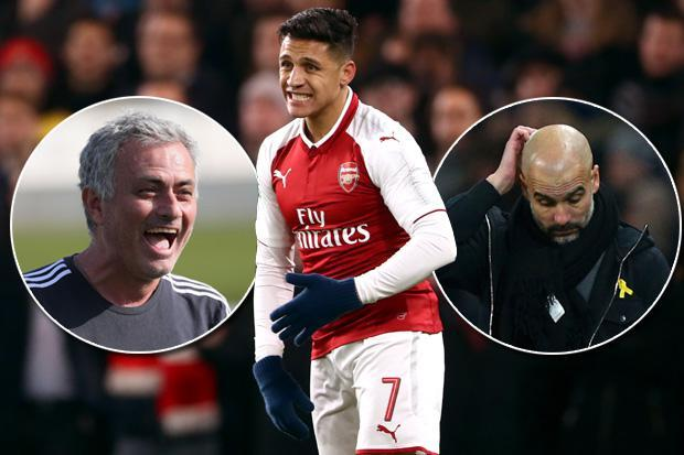 Alexis Sanchez will earn £60k-a-week more at Manchester United if he chooses them over Manchester City this month
