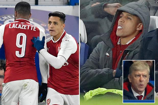 Arsene Wenger drops Alexis Sanchez against Chelsea but insists he will wait 'until June' for superstar