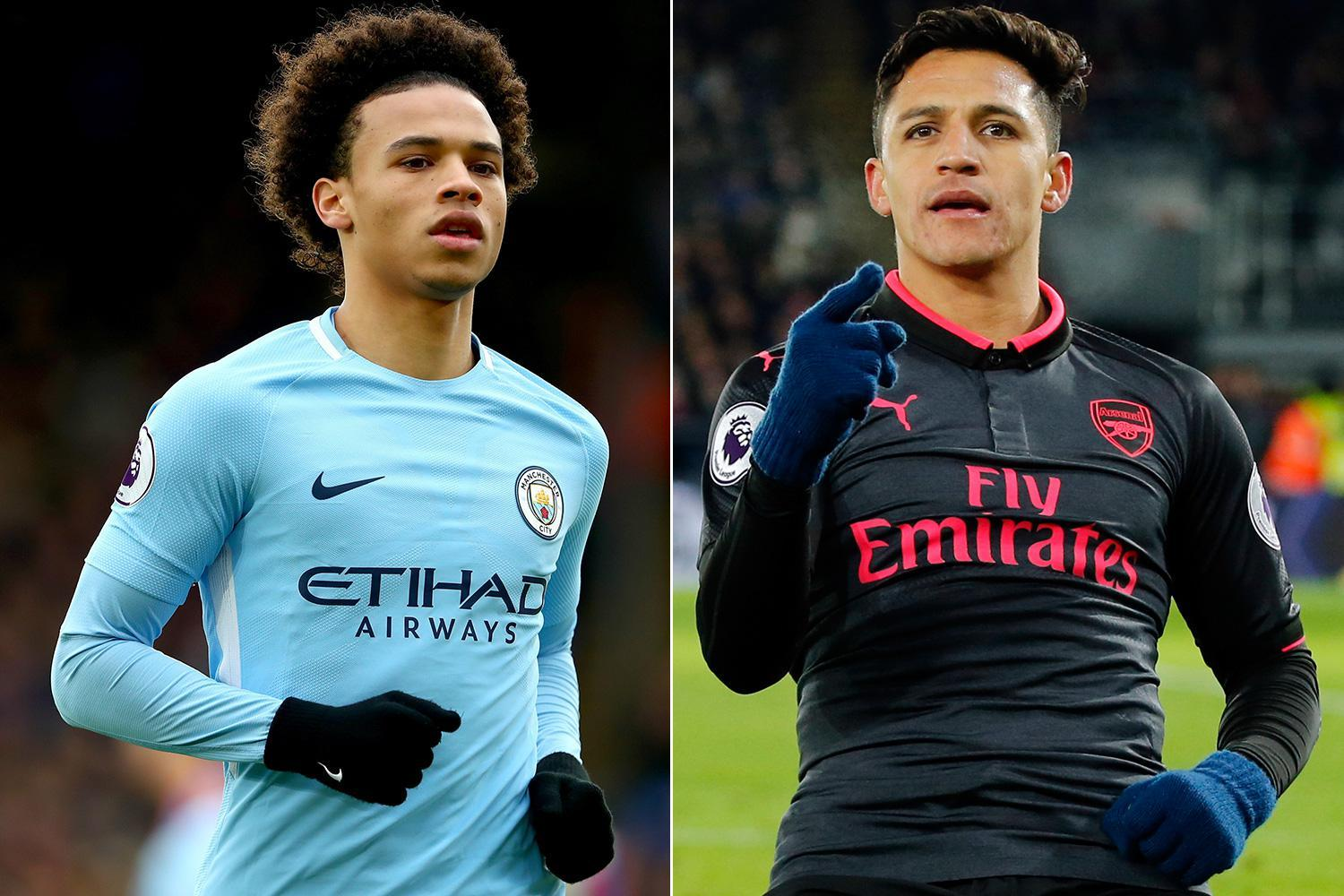 Manchester City star Leroy Sane not worried about his place in Pep Guardiola's starting XI… even if they sign Alexis Sanchez