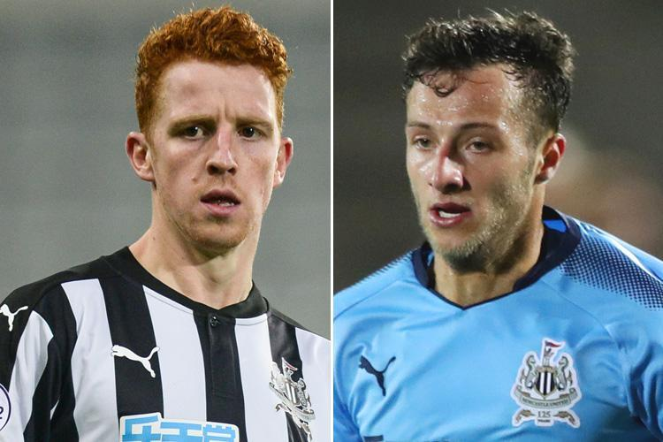 Newcastle boss Rafa Benitez tells Jack Colback and Jamie Sterry they can leave the club this month