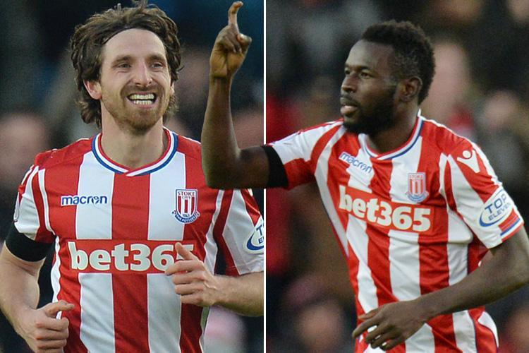 Stoke 2 Huddersfield 0: Paul Lambert's first game in charge is a resounding success