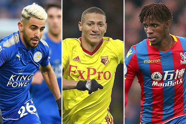 Wilfried Zaha, Riyad Mahrez, Richarlison… the ten best stars to play outside the top six